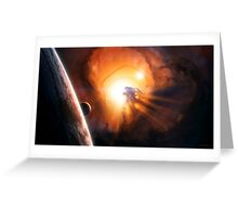 Planet - Fire Greeting Card