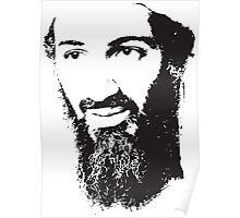 Osama Bin Laden, Silhouette Poster