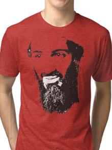 Osama Bin Laden, Silhouette Tri-blend T-Shirt