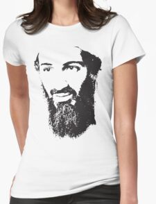 Osama Bin Laden, Silhouette Womens Fitted T-Shirt
