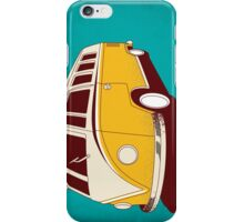 Yellow Microbus Van iPhone Case/Skin