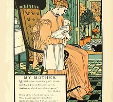 The Buckle My Shoe Picture Book by Walter Crane 1910 64 - My Mother by wetdryvac