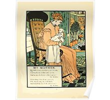 The Buckle My Shoe Picture Book by Walter Crane 1910 64 - My Mother Poster