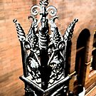 banister decoration, Bradbury Building, Los Angeles by rmenaker