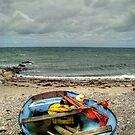 old boat at Kikhavn by Andrea Rapisarda