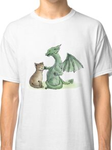 Furry Kitty, Scaly Kitty Classic T-Shirt