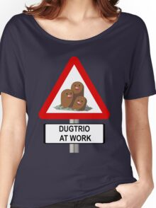 Dugtrio at Work Women's Relaxed Fit T-Shirt