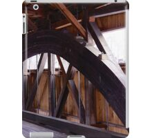 Timbers, trusses, and ties iPad Case/Skin