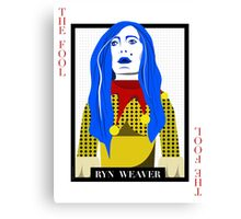 Ryn Weaver - The Fool Playing Card Canvas Print