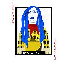 Ryn Weaver - The Fool Playing Card Photographic Print