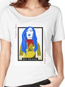 Ryn Weaver - The Fool Playing Card Women's Relaxed Fit T-Shirt