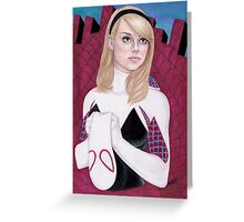 Spider-Gwen Greeting Card