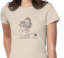 The Wonderful Wizard of OZ - Cowardly Lion Womens Fitted T-Shirt