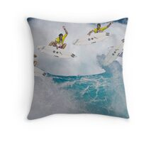 Andy Irons Boosting at Backdoor Throw Pillow