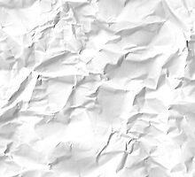 Paper crumpled by benova