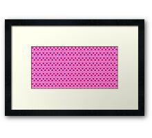 Yuri Kuma Arashi Pink Framed Print