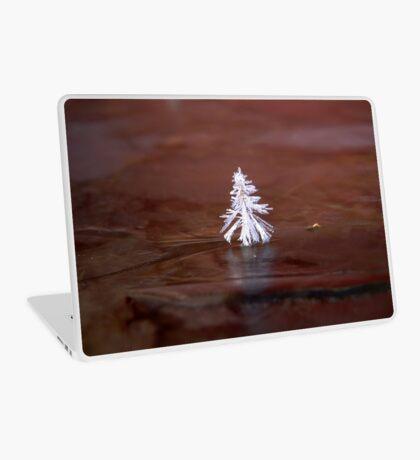 Crystal Tree nature ice by Carol Sue Laptop Skin