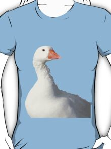 Wild White Duck Background Removed T-Shirt