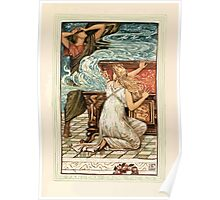 A Wonder Book for Girls and Boys by Nathaniel Hawthorne illustrated by Walter Crane 131 - Pandora Opens the Box Poster