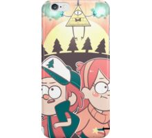"Gravity Falls- ""Danger Surrounds Us..."" iPhone Case/Skin"