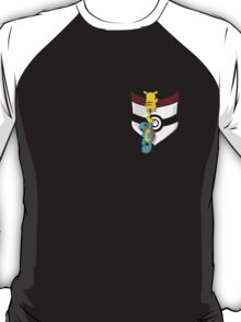 Squirtle and pika T-Shirt