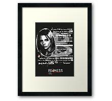 Buffy speech Framed Print