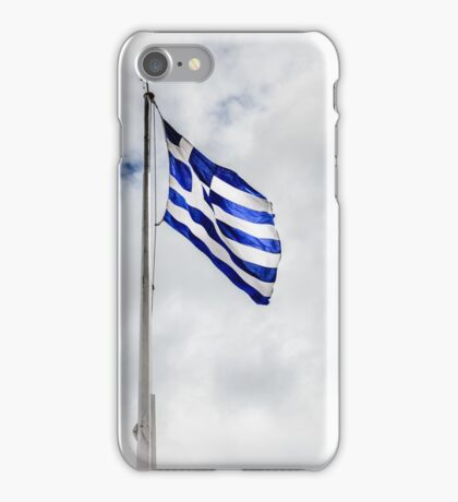 Flag of Greece iPhone Case/Skin
