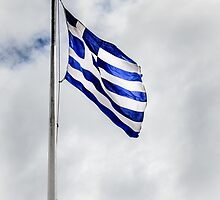 Flag of Greece by Debra Martz