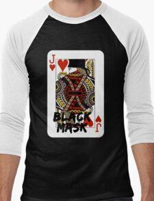 Black mask. Men's Baseball ¾ T-Shirt