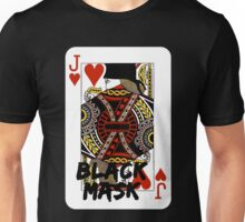 Black mask. Unisex T-Shirt