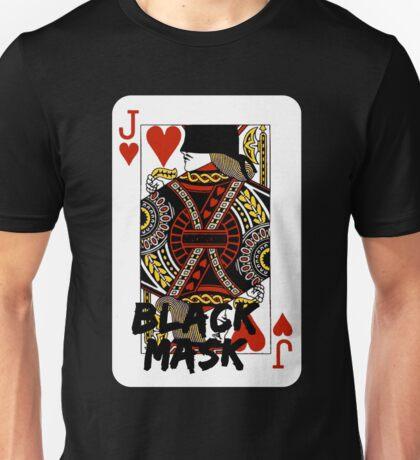 Black mask. Unisex T-Shirt