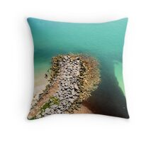 Sea Below Throw Pillow