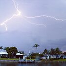 When lightning strikes by Larry  Grayam