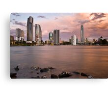 Channel Crossing Canvas Print