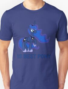 Luna Is Best Pony (Season 2+) T-Shirt