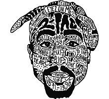 Tupac Shakur Photographic Print