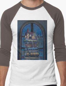 Castle Book Men's Baseball ¾ T-Shirt
