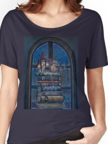 Castle Book Women's Relaxed Fit T-Shirt