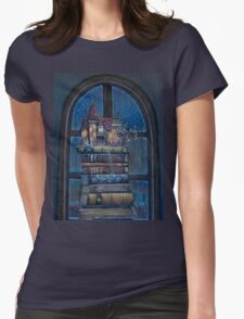 Castle Book Womens Fitted T-Shirt