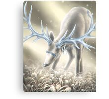 Icy crown  Canvas Print