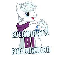 Everypony's Bi For Diamond Photographic Print
