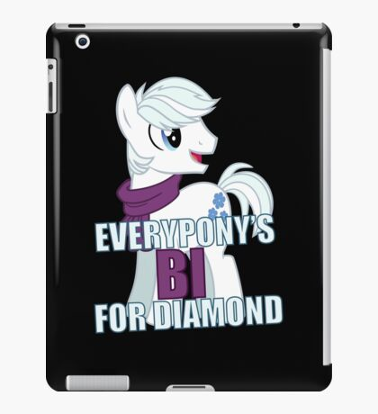 Everypony's Bi For Double Diamond - MLP FiM - Brony iPad Case/Skin