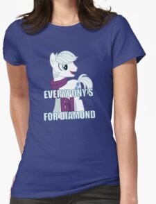 Everypony's Bi For Double Diamond - MLP FiM - Brony Womens Fitted T-Shirt