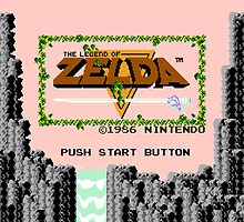 Legend of Zelda: Start Screen by muramas