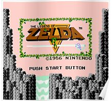 Legend of Zelda: Start Screen Poster