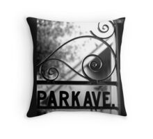 Park Ave Throw Pillow