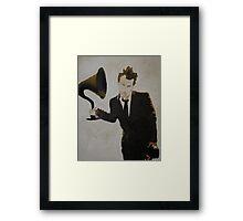 Mr Tom Waits Framed Print