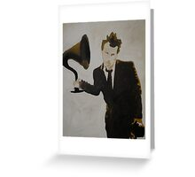 Mr Tom Waits Greeting Card