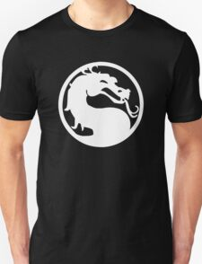 Mortal Dragon (White) T-Shirt