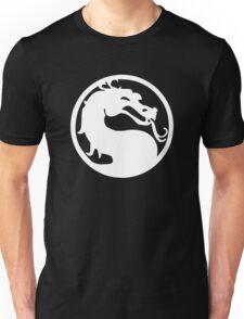 Mortal Dragon (White) Unisex T-Shirt